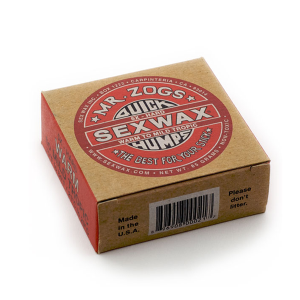 Picture of Sexwax Quick Humps Surf Wax: Eco Box