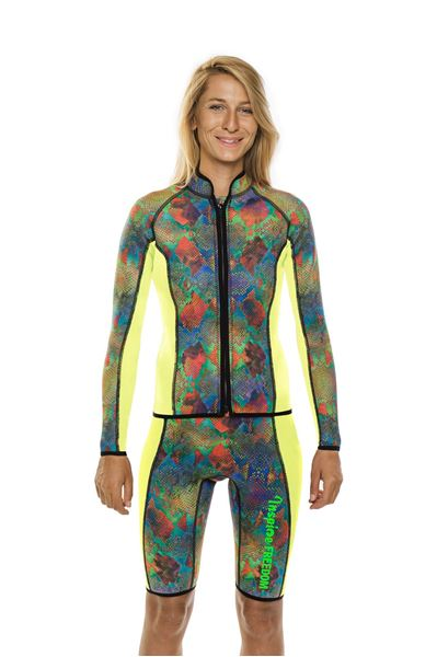 Picture of Kora Jacket and Shorts Fluo