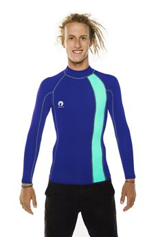 Picture of Cody Neoprene Shirt Blue