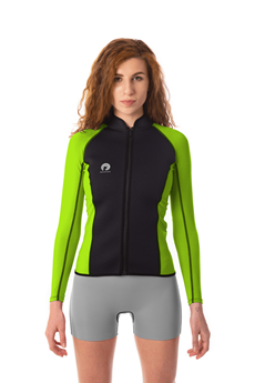 Picture of Kora Breathe Jacket Fluo