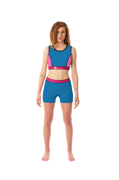 Picture of Moka Top & Shorts Blue