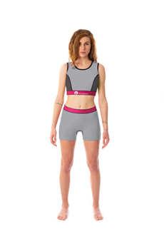Picture of Moka Top & Shorts Grey