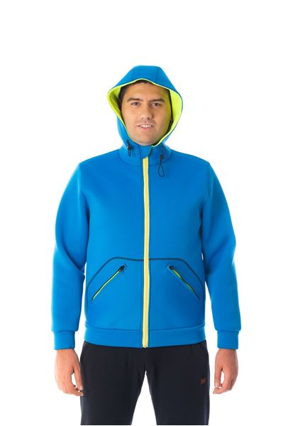 Picture of Shaka Short Hoody Blue
