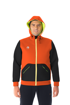 Picture of Shaka Short Hoody Orange